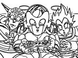 Cartoon Comic Dragonball Z Controller Super Nintendo Coloring Page