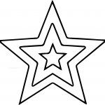 Clker Free Star Coloring Page