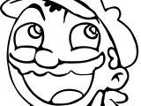 Comic Mario Nintendo Coloring Page