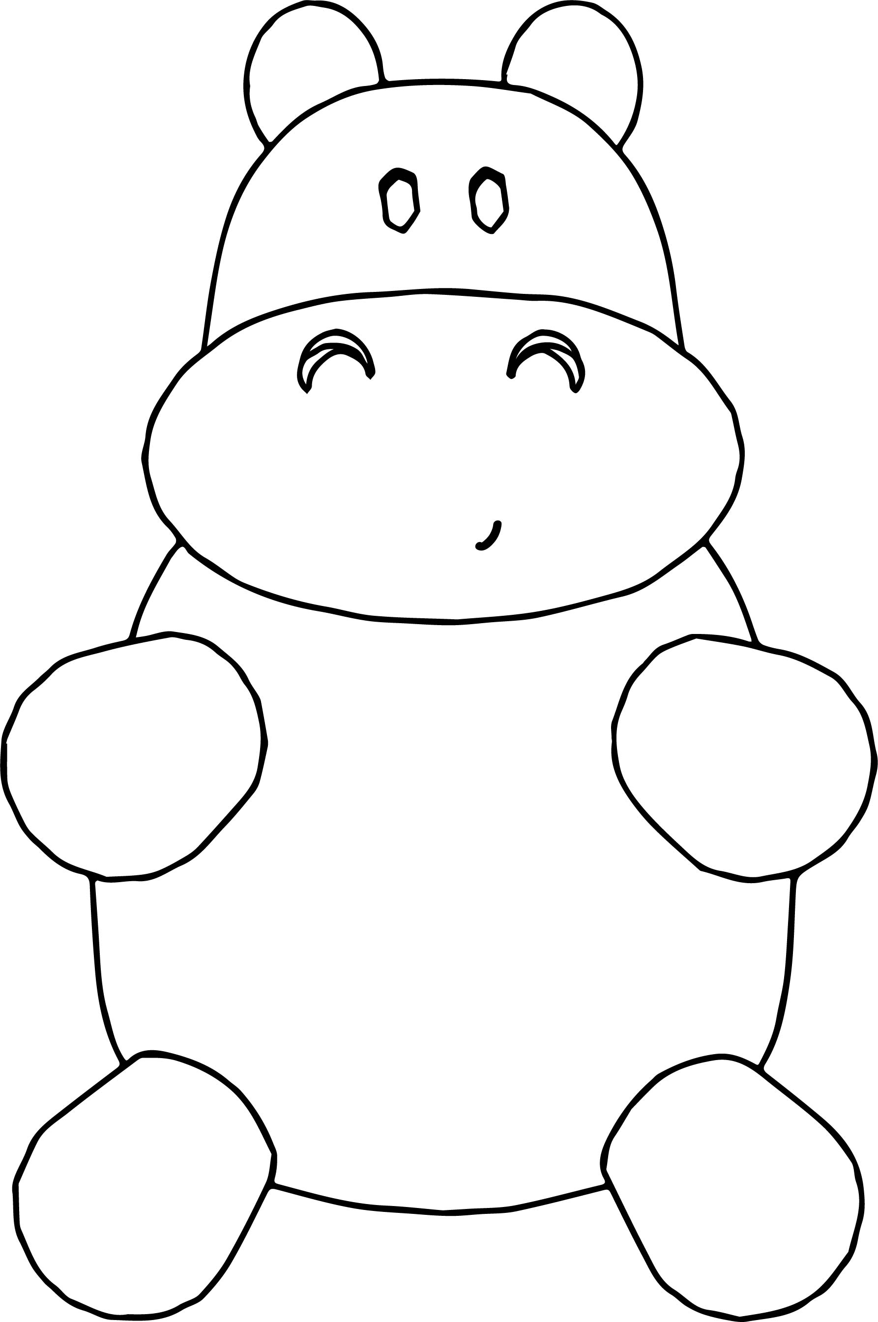 Cow Toy Coloring Page Sweet Cute Pretty Beauty Best Perfect Time