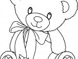 Cute Bear Coloring Pages