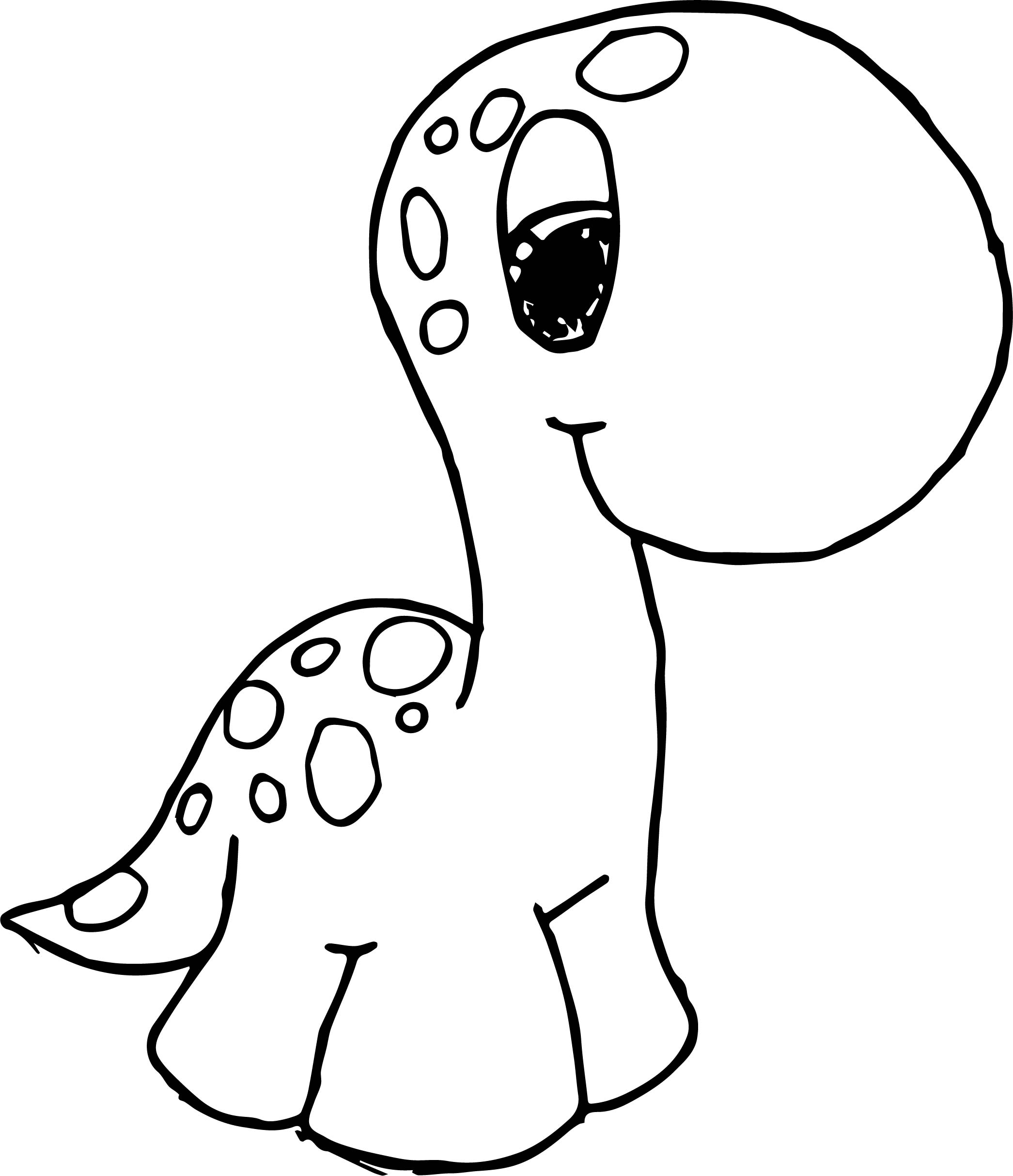 Cute Dinosaur Coloring Pages For Kids Az Sketch Coloring Page