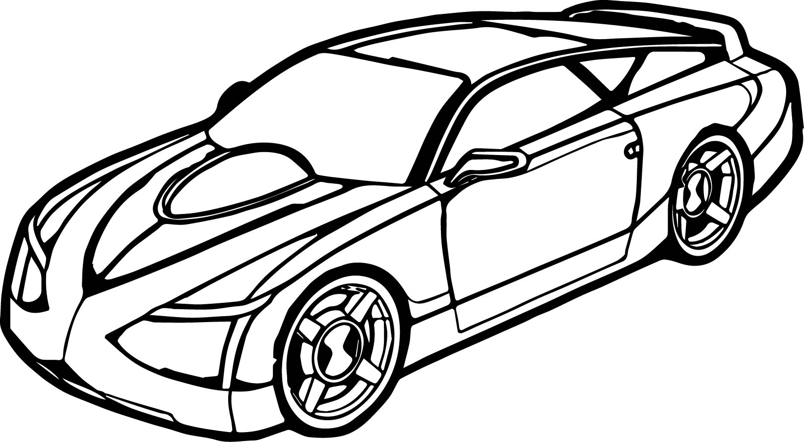 printable car drawings
