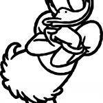 Daisy Duck Miss Coloring Page