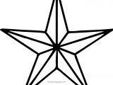 Diamond Star Coloring Page