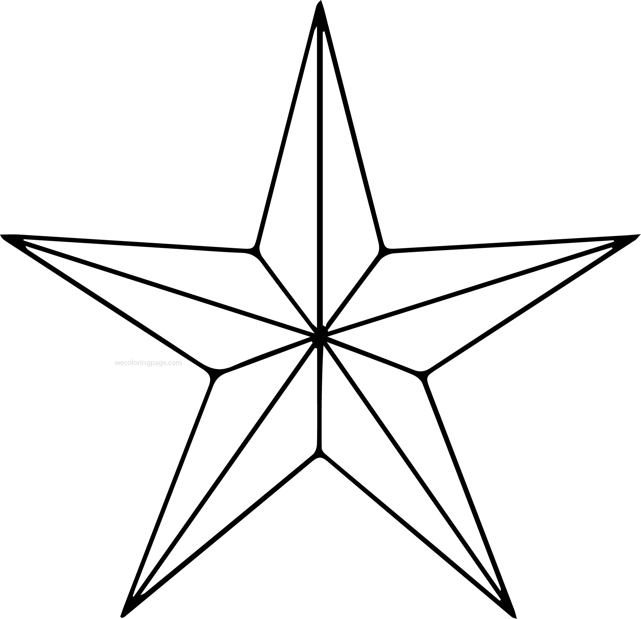 Diamond Star Coloring Pages