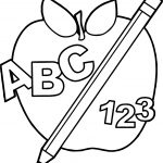 Discover Back To School Apple Images Coloring Page Abc