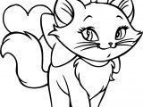 Disney The Aristocats Love Marrie Coloring Page