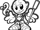 Doodle Avatar Aang Fella Avatar Aang Coloring Page