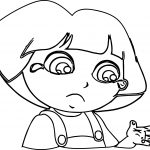 Dora Hand Damage And Ache Coloring Page