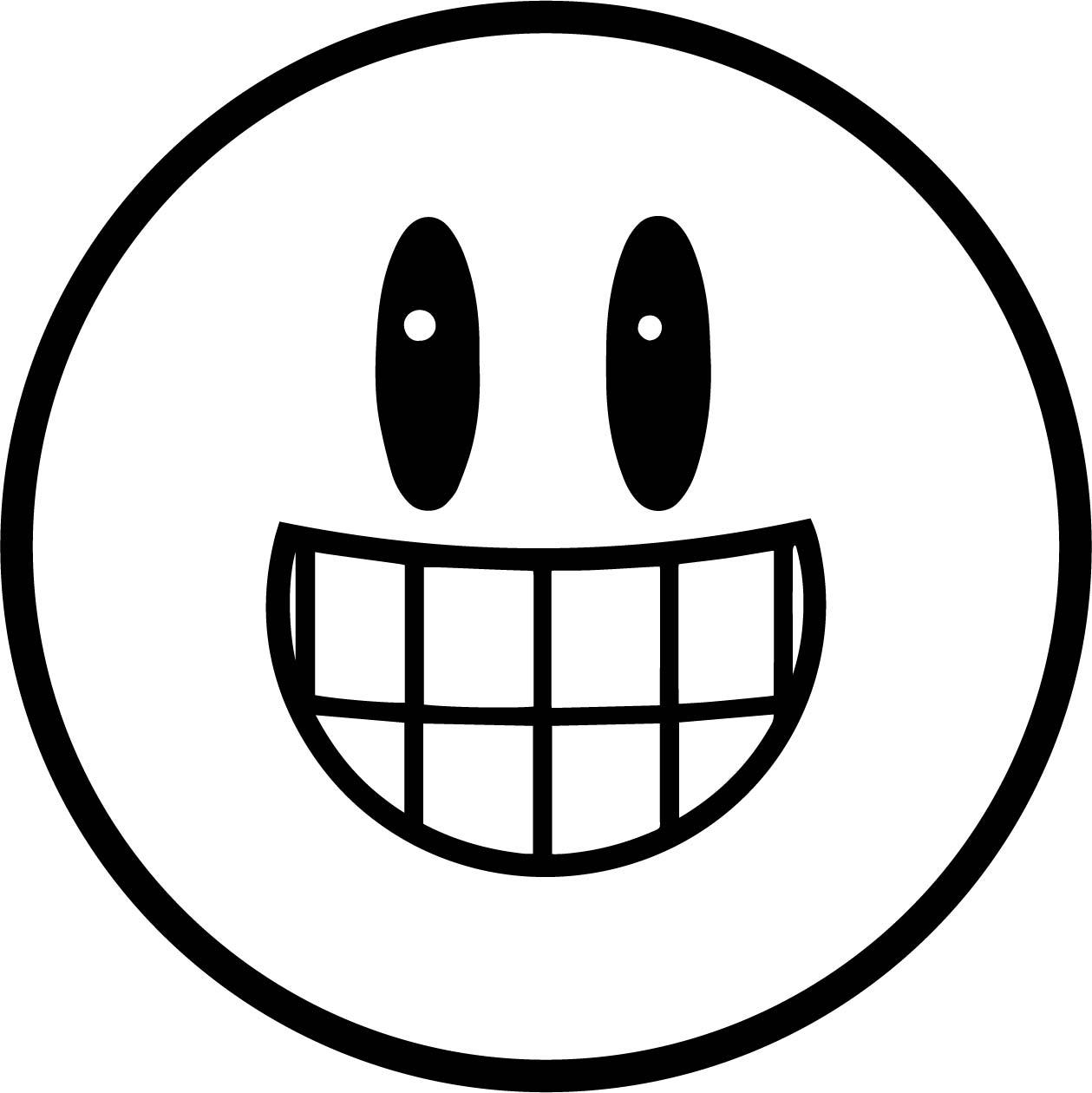 Emoticon Just Coloring Page