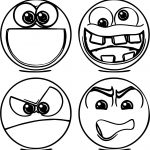 Emoticons Missatge Coloring Page