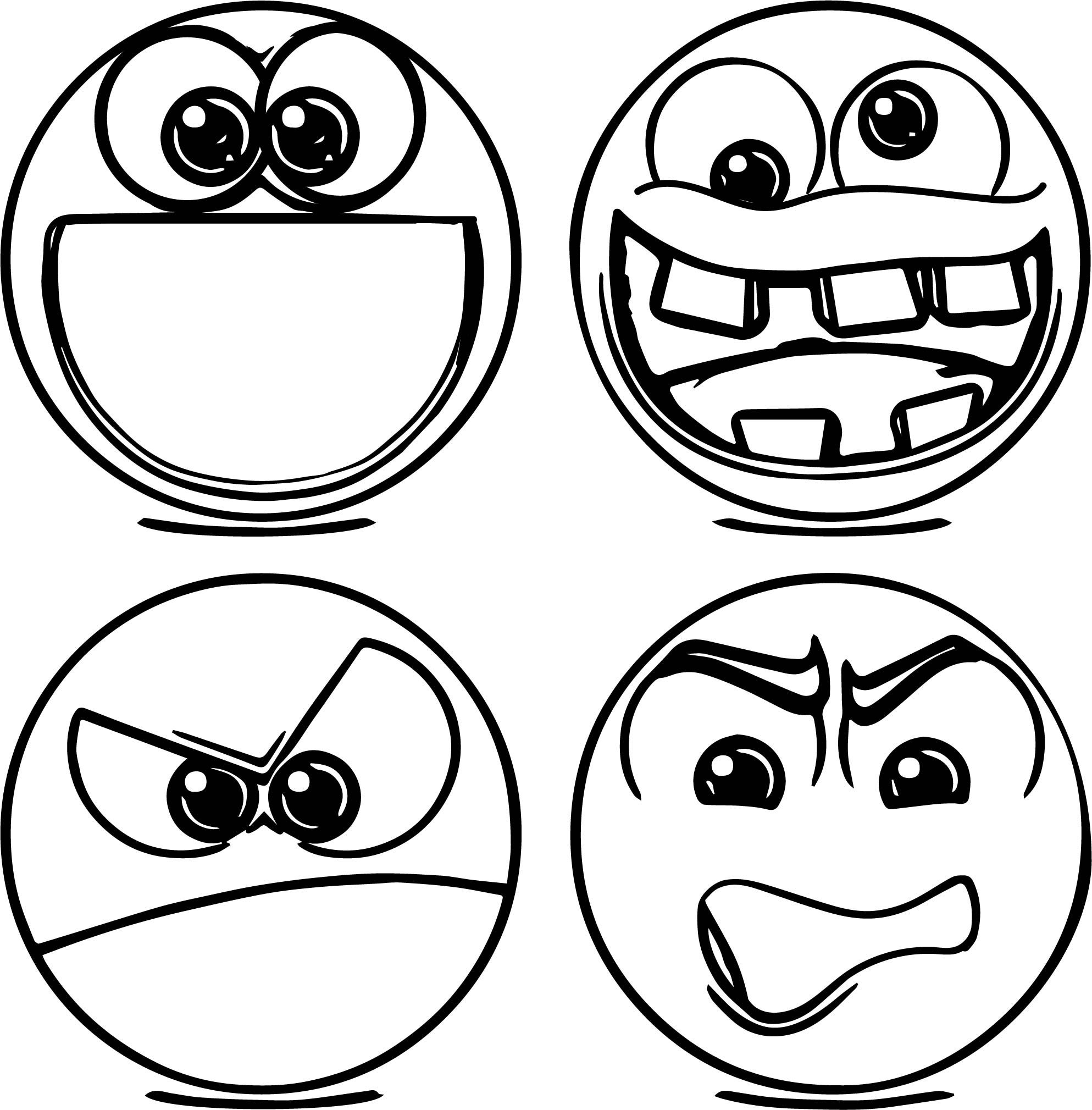 Emoticons Missatge Coloring Page | Wecoloringpage