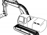 Excavator Top Coloring Page