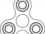 Fidget Spinner Coloring Page