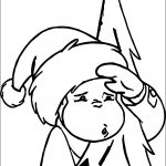 George Monkey Climb Snow Tree Coloring Page