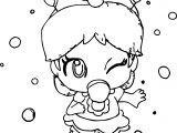 Girl Mario Daisy Winkle Coloring Page