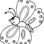 Good Butterfly Coloring Page
