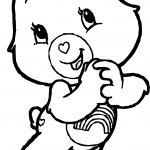 Happy Care Bears Adventures in Care A Lot Coloring Page