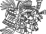 Huehuecoyotl C Telleriano Remensis Coloring Page