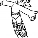 I Am Astro Boy Coloring Page