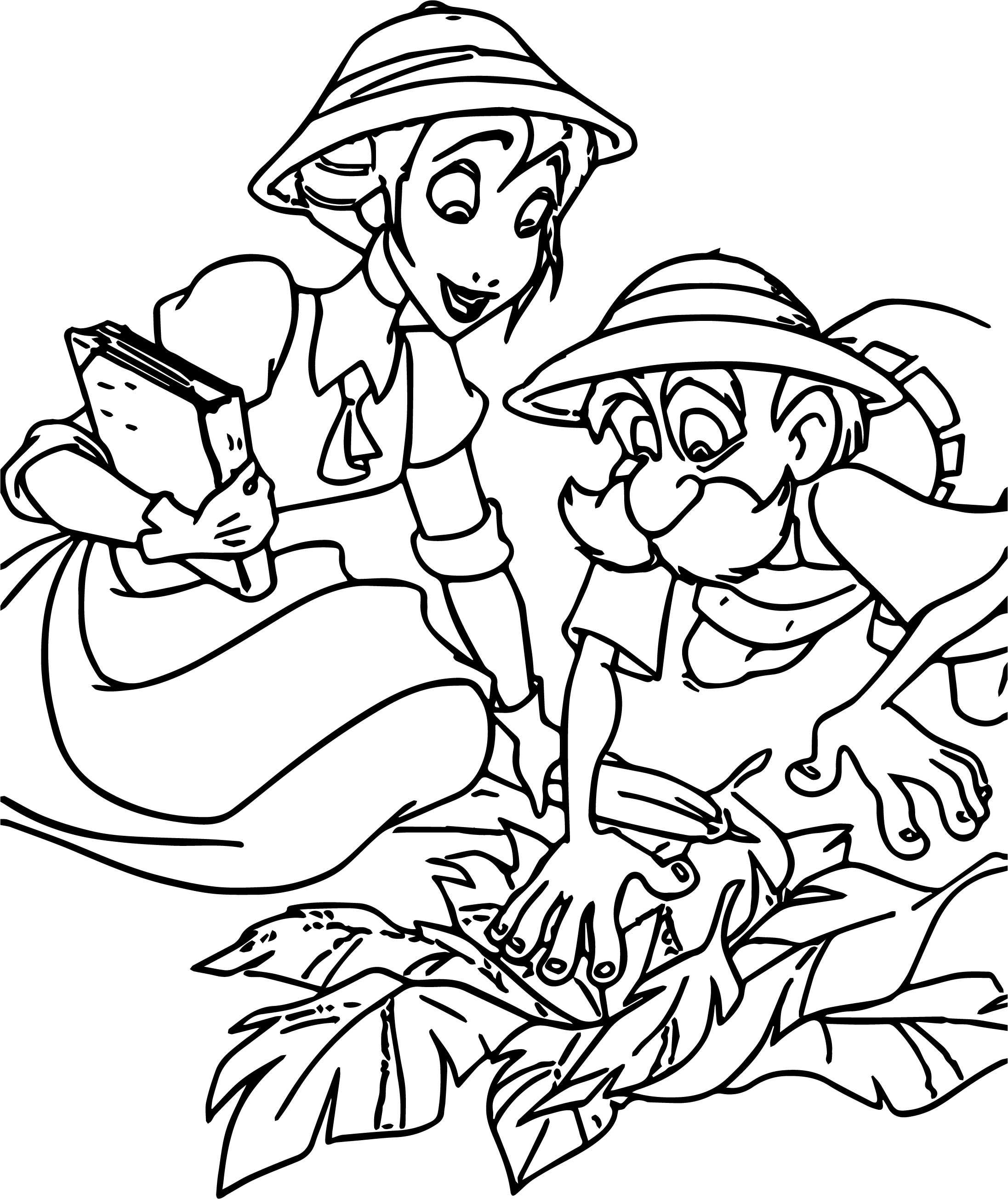 Jane Porter Coloring Page