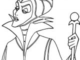 Just Maleficent Coloring Page