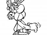 New Asterix Walking Coloring Page