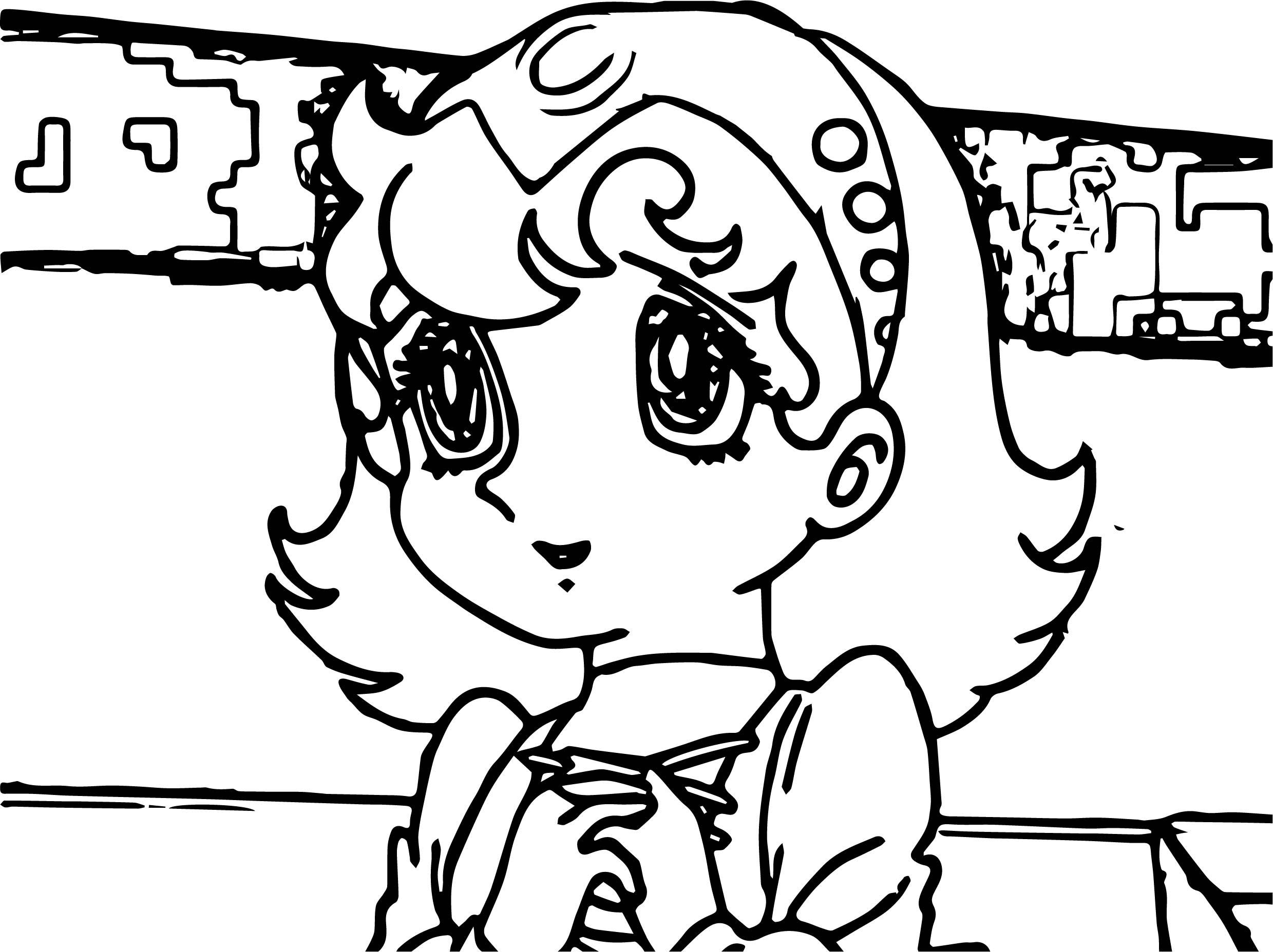 Nikki Astro Boy Coloring Page