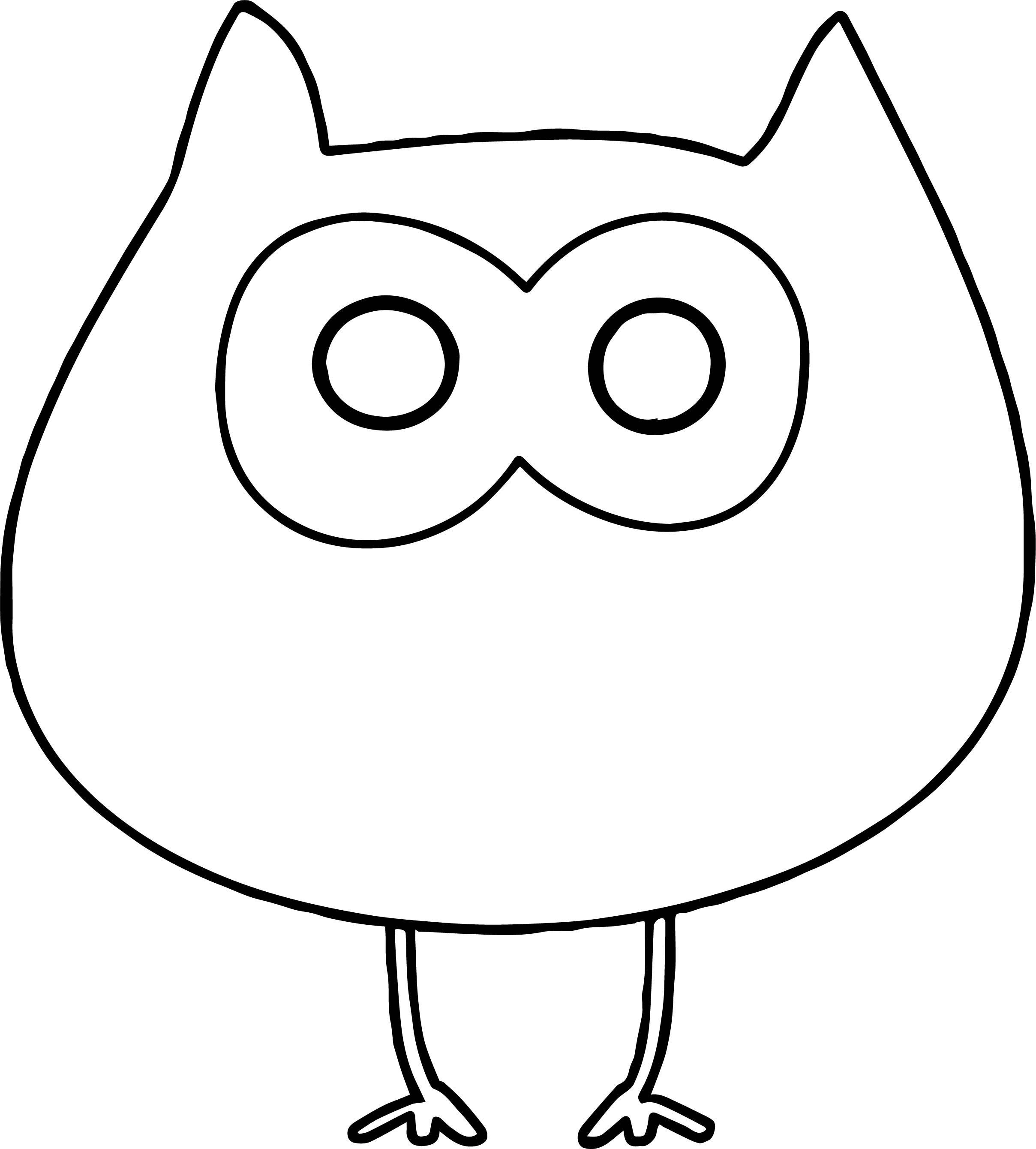 Owl Free Autumn For Party Decor Crafts And More Coloring Page
