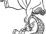 Power Baby Hercules and Baby Pegasus Coloring Pages