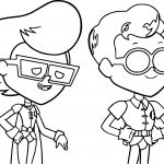 Robin Teen Titans Go And Just Friend Coloring Page