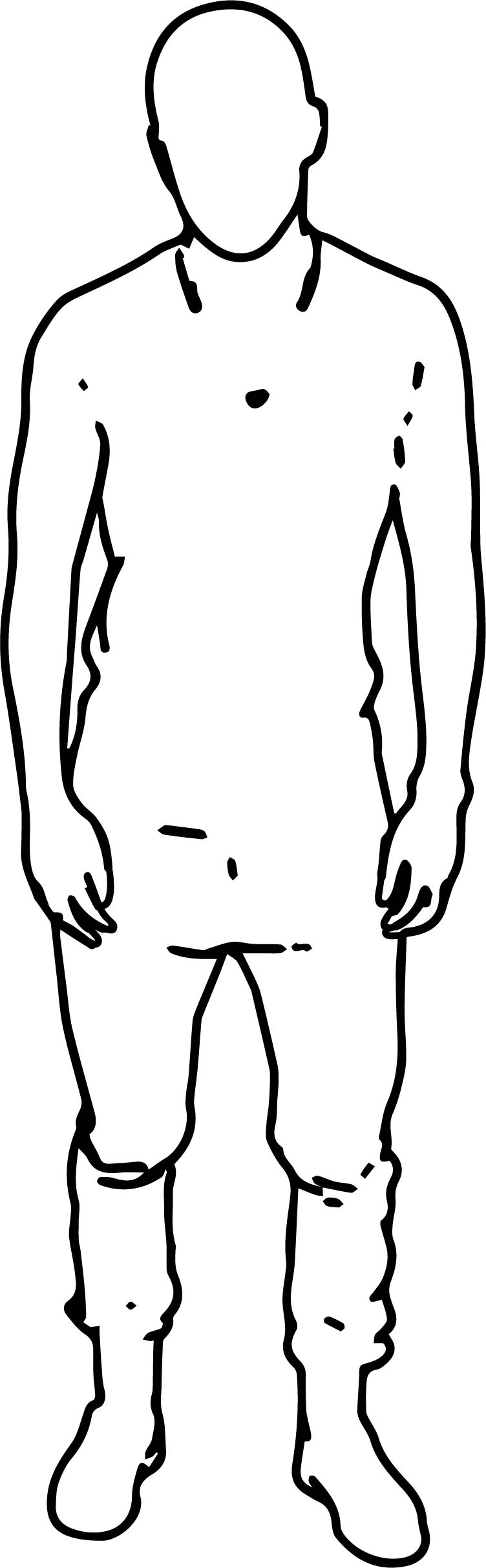 Scan Man Coloring Page