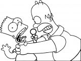 Simpson Wallpapers The Simpsons Coloring Page