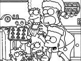 Simpsons Kitchen Coloring Page