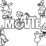 Simpsons Wallpapers The Simpsons Coloring Page