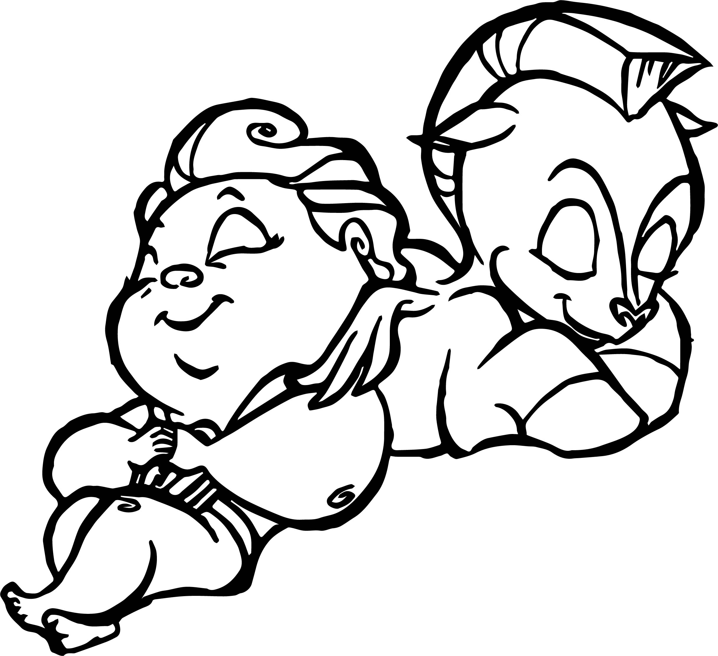 Sleep baby hercules and baby pegasus coloring pages for Coloring pages of pegasus