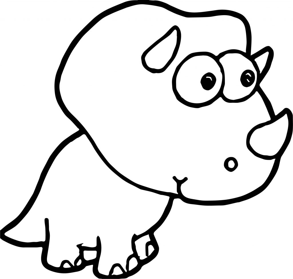 coloring pages dinosaurs triceratops baby - photo#41