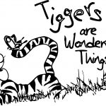 Sour Tigger Coloring Page