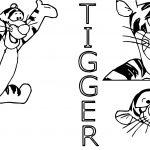 Spicy Tigger Coloring Page