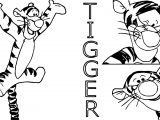 Spicy Tigger Coloring Page