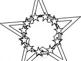 Star In Star Coloring Page