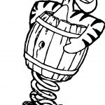 Sticky Tigger Coloring Page