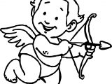 Sweet Baby Cupido Coloring Page