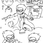 Teen Titans Go Robin Drawing Style Coloring Page