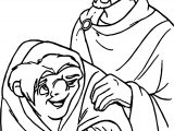 The Hunchback Of Notre Dame Quasi Phoebus Coloring Page