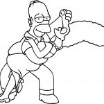 The Simpsons Coloring Page