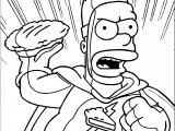 The Simpsons Tapped Out Coloring Page