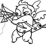 Three Arrow Baby Cupido Coloring Page