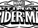 ultimate spider man logo coloring page - Avengers Logo Coloring Pages